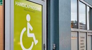 Moderne og handicapvenlige faciliteter
