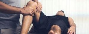 behandling som genoptræning af knæet